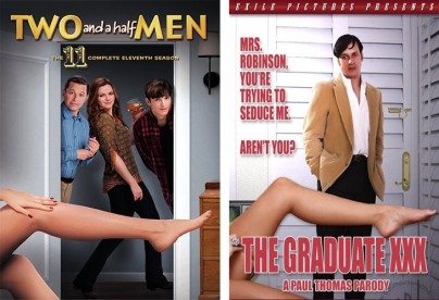 """Two and a Half Men"" und  ""The Graduate XXX"""