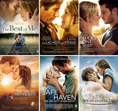 Filme von Nicholas Sparks