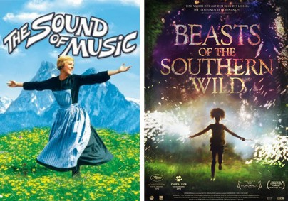 """The Sound of Music"" und ""Beasts of the Southern Wild"""