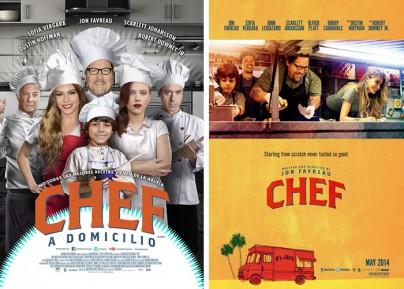 """Filmplakate zu """"Chef"""""""