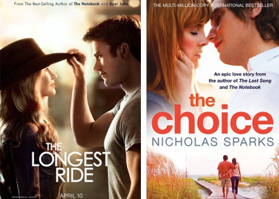 """The Longest Ride"" und ""The Choice"""