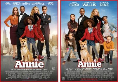 """Filmplakate zu """"Annie"""""""