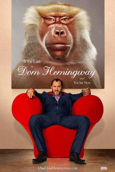 "Filmplakat zu ""Dom Hemingway"""