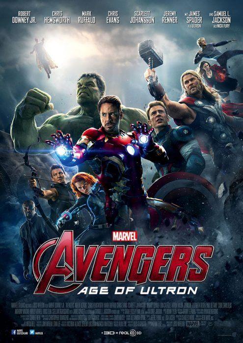 """Filmplakat zu """"Avengers: Age of Ultron"""""""