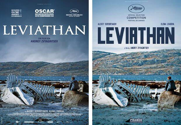 """Filmplakate zu """"Leviathan"""""""