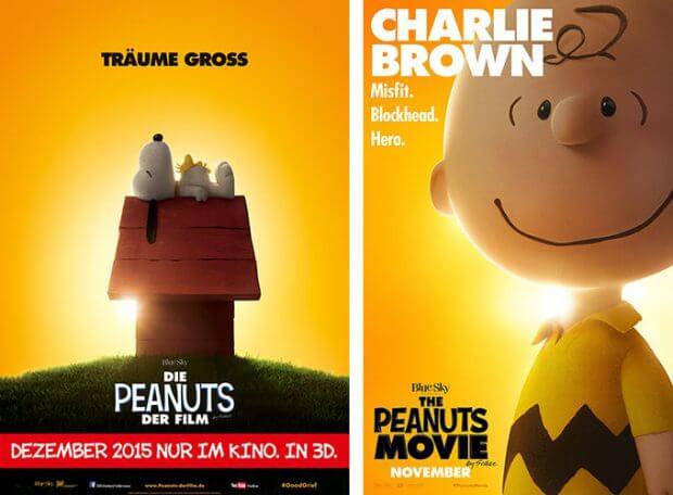 """Filmplakate zu """"Die Peanuts - Der Film"""""""