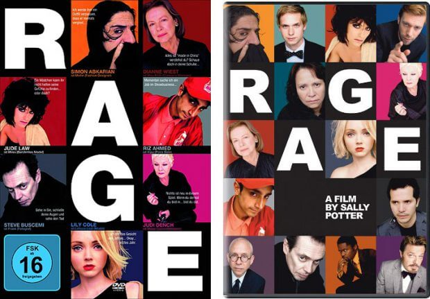 """Filmplakate zu """"Rage"""""""
