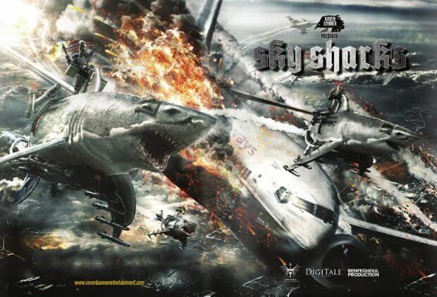 """Filmplakat zu """"Sky Sharks"""""""