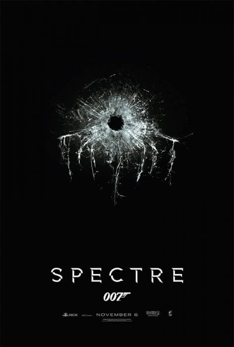 """Teaserplakat zu """"Spectre"""""""