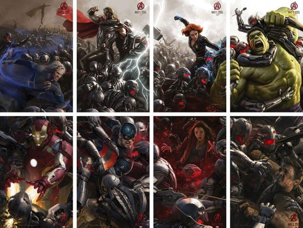 "Sonderplakat zu ""Avengers: Age of Ultron"""