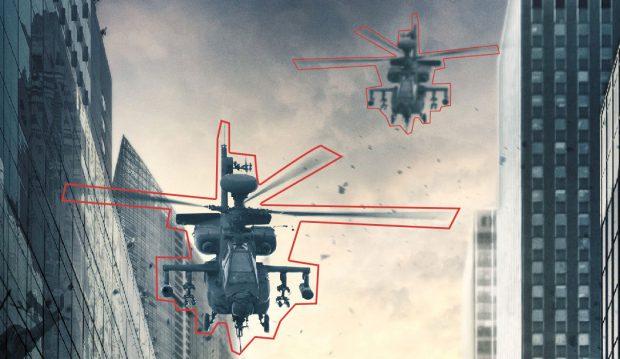 Detail Hubschrauber