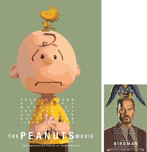 Die Peanuts vs. Birdman