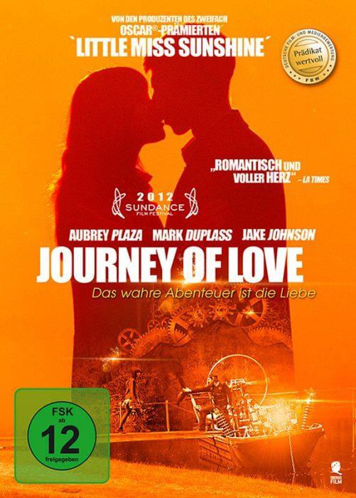 """DVD-Cover zu """"Journey of Love - Das wahre Abenteuer ist die Liebe"""""""