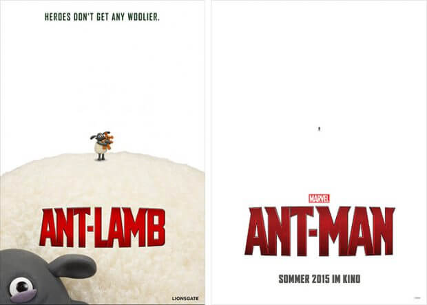 Ant-Lamb vs. Ant-Man