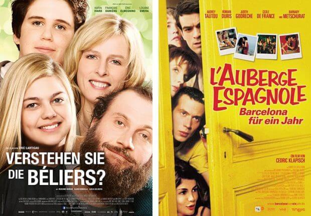 """""""Verstehen Sie die Béliers?"""" und """"L'Auberge Espagnole - Barcelona für ein Jahr"""""""