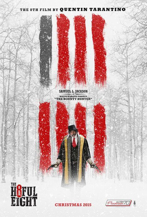 "Filmplakat zu ""The Hateful Eight"""
