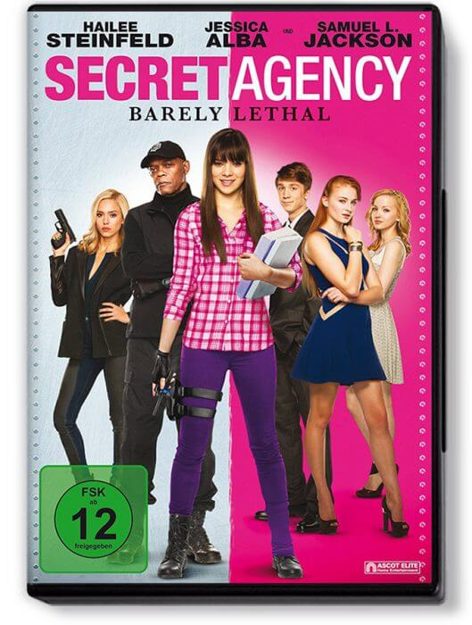 "DVD-Cover zu ""Secret Agency"""