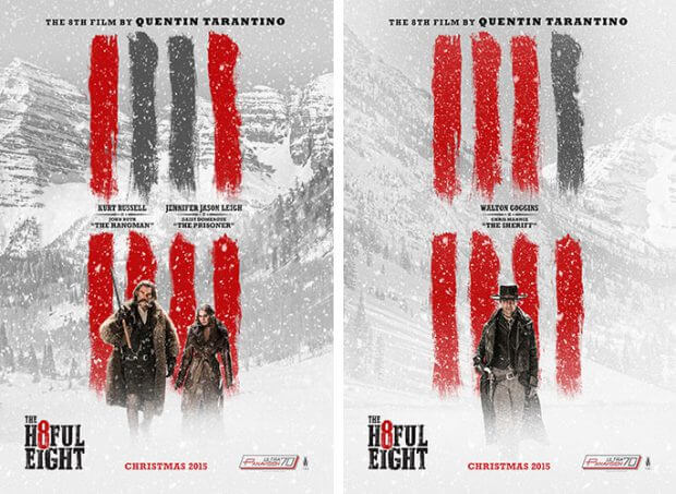 "Filmplakate zu ""The Hateful Eight"""