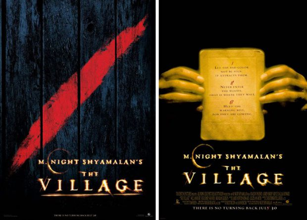 "Filmplakate zu ""The Village"""