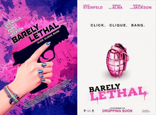 "Filmplakate zu ""Barely Lethal"""
