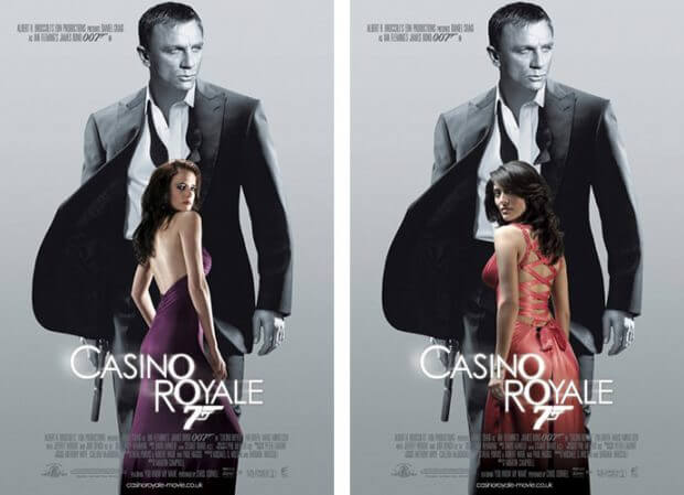 "Filmplakate zu ""Casino Royale"""