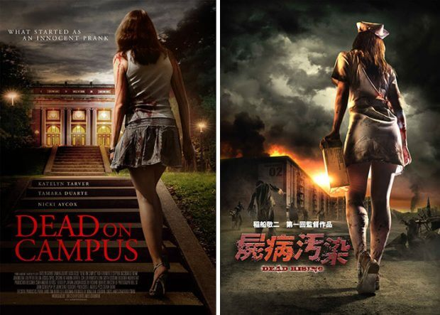 """Dead on Campus"" und ""Zombrex: Dead Rising Sun"""