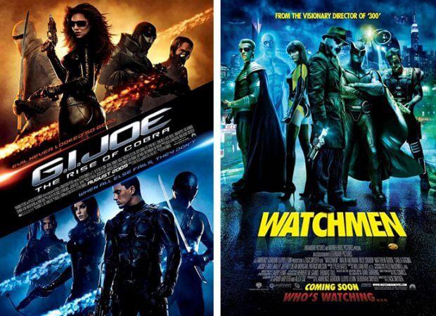 """""""G.I. Joe"""" und """"Watchmen - Die Wächter"""""""