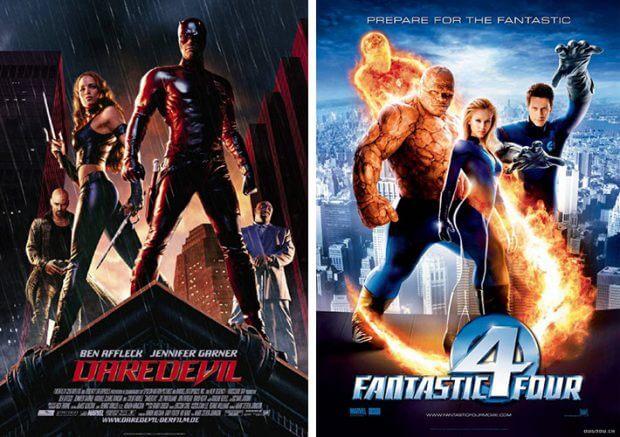 """Daredevil"" und ""Fantastic Four"