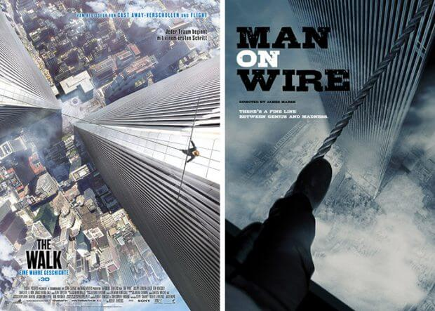 """The Walk"" vs. ""Man on Wire"""