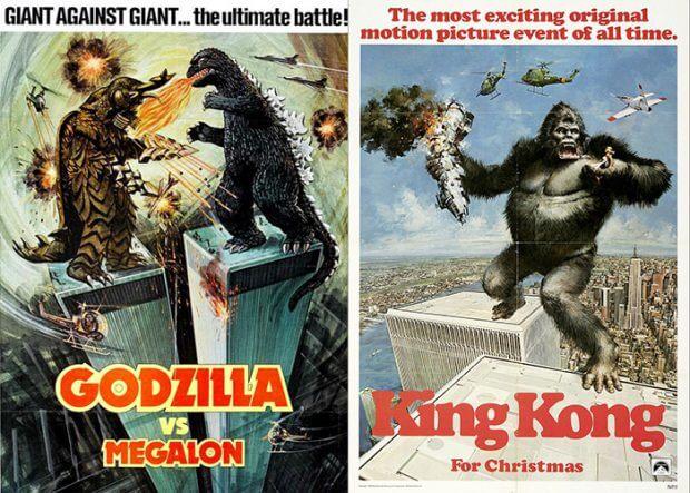 """Godzilla gegen Megalon"" und ""King Kong"""