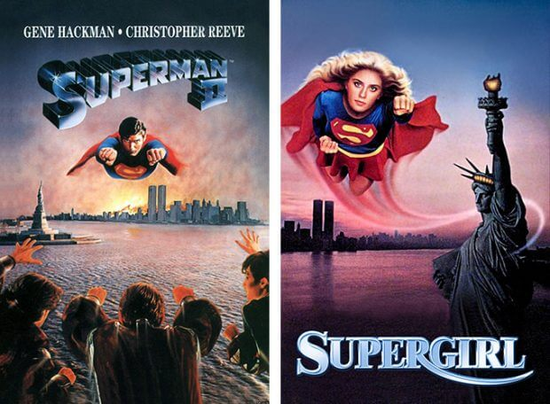 """Superman II"" und ""Supergirl"""