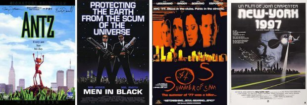 Ants, Men in Black, Summer of SAM, Die Klapperschlange