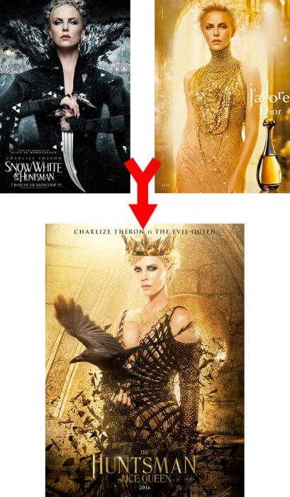 Charlize Theron, The Huntsman und Dior