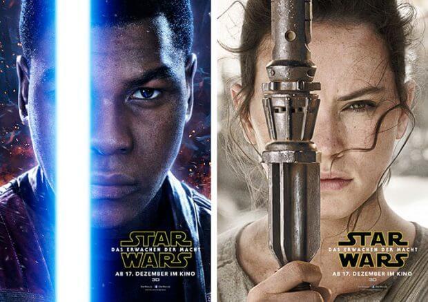 """Filmplakate zu """"Star Wars - Das Erwachen der Macht"""""""