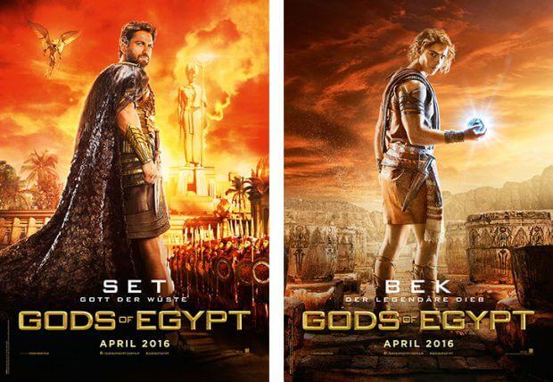 """""""Gods of Egypt""""-Poster"""