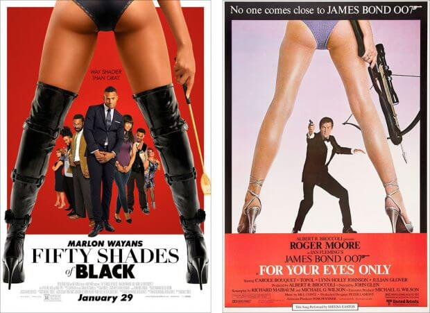 """Fifty Shades of Black"" und James Bond"