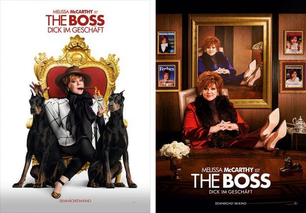 "Filmplakate zu ""The Boss"""