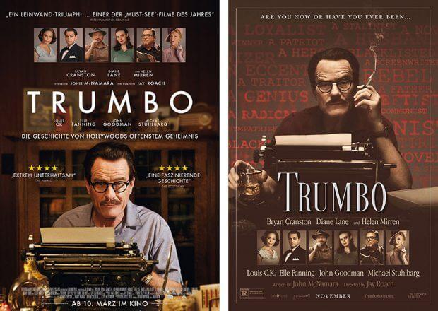 """Filmplakate zu """"Trumbo"""""""