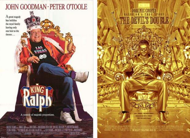 """King Ralph"" und ""The Devil's Double"""