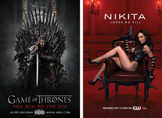 """Game of Thrones"" und ""Nikita"""