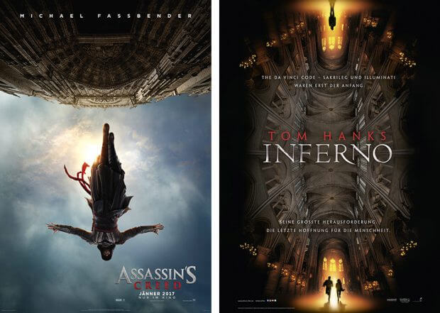 "n ""Assassin's Creed"" und ""Inferno"""