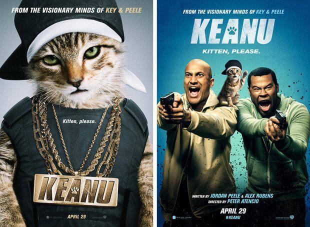 """Filmplakate zu """"Keanu"""""""