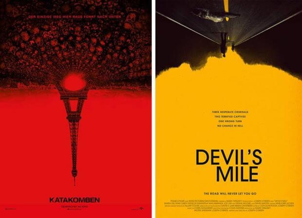 """Katakomben"" und ""Devil's Mile"""