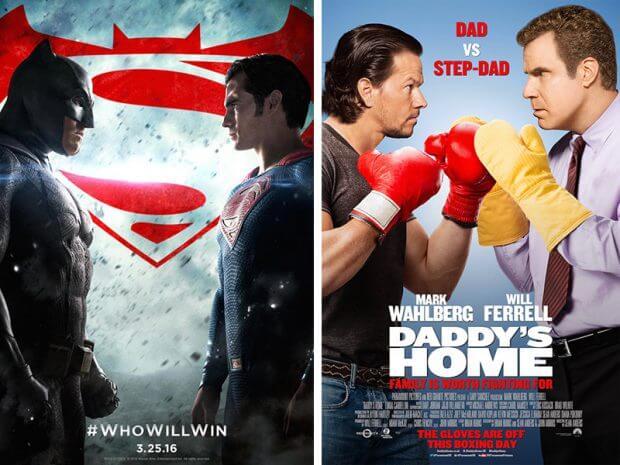 """""""Batman vs. Superman - Dawn of Justice"""" und """"Daddy's Home - Ein Vater zu viel"""""""