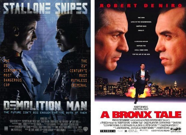 """""""Demolition Man"""" und """"In den Straßen der Bronx"""""""