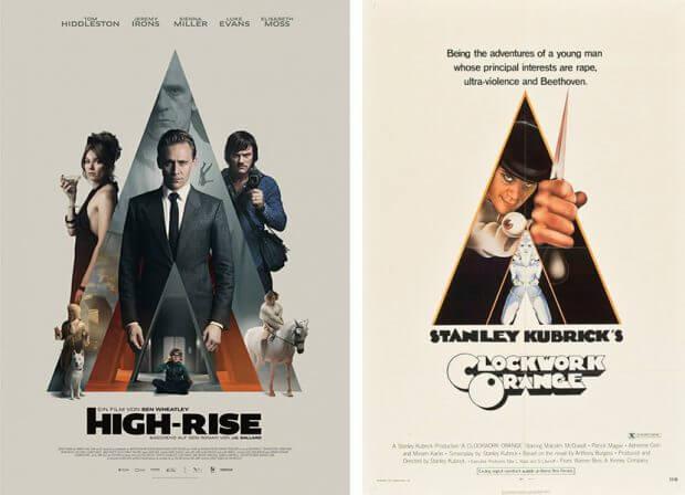 """""""High-Rise"""" und """"Uhrwerk Orange"""""""
