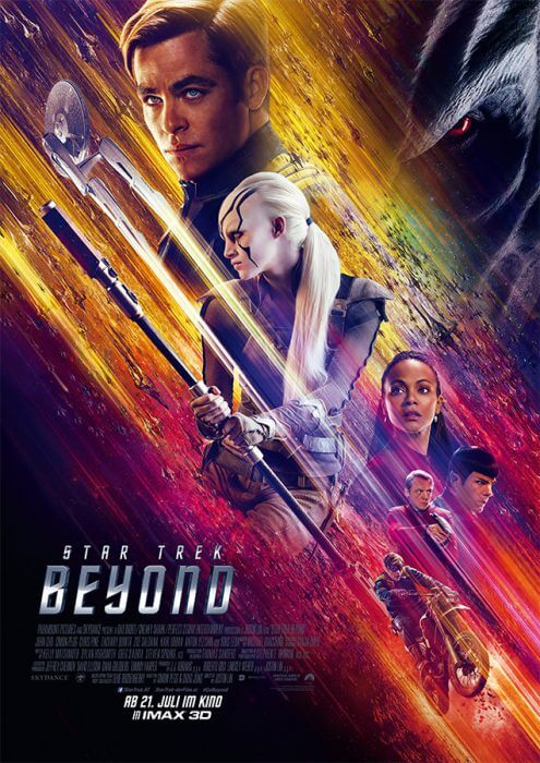 "Filmplakat zu ""Star Trek Beyond"""