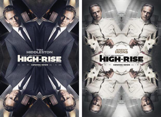 """Filmplakate zu """"High-Rise"""""""