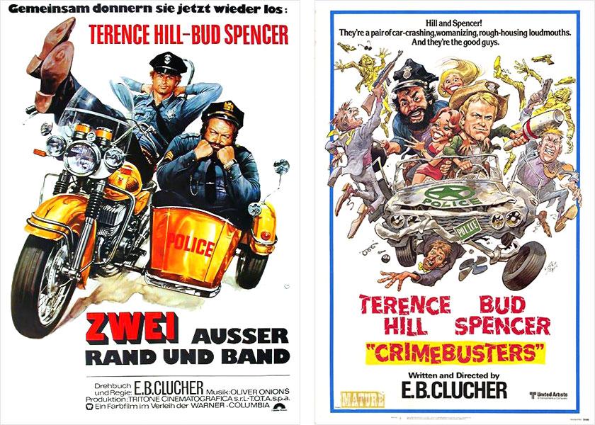 Bud Spencer Und Terence Hill Zwei Außer Rand Und Band