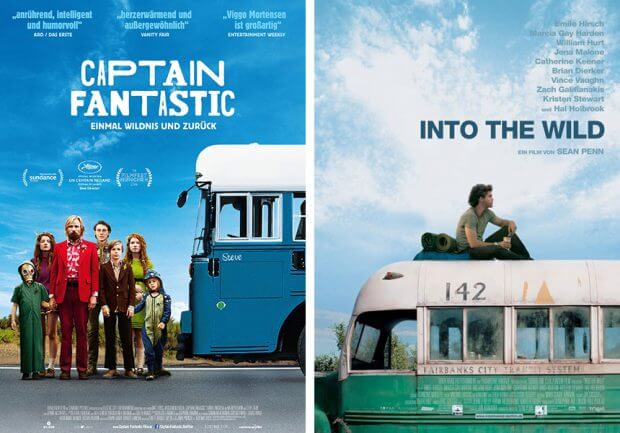 """Captain Fantastic"" und ""Into the Wild"""